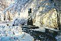 Moltke-Denkmal am Geschwister-Scholl-Weg Ruhland 1996 Winter.jpg