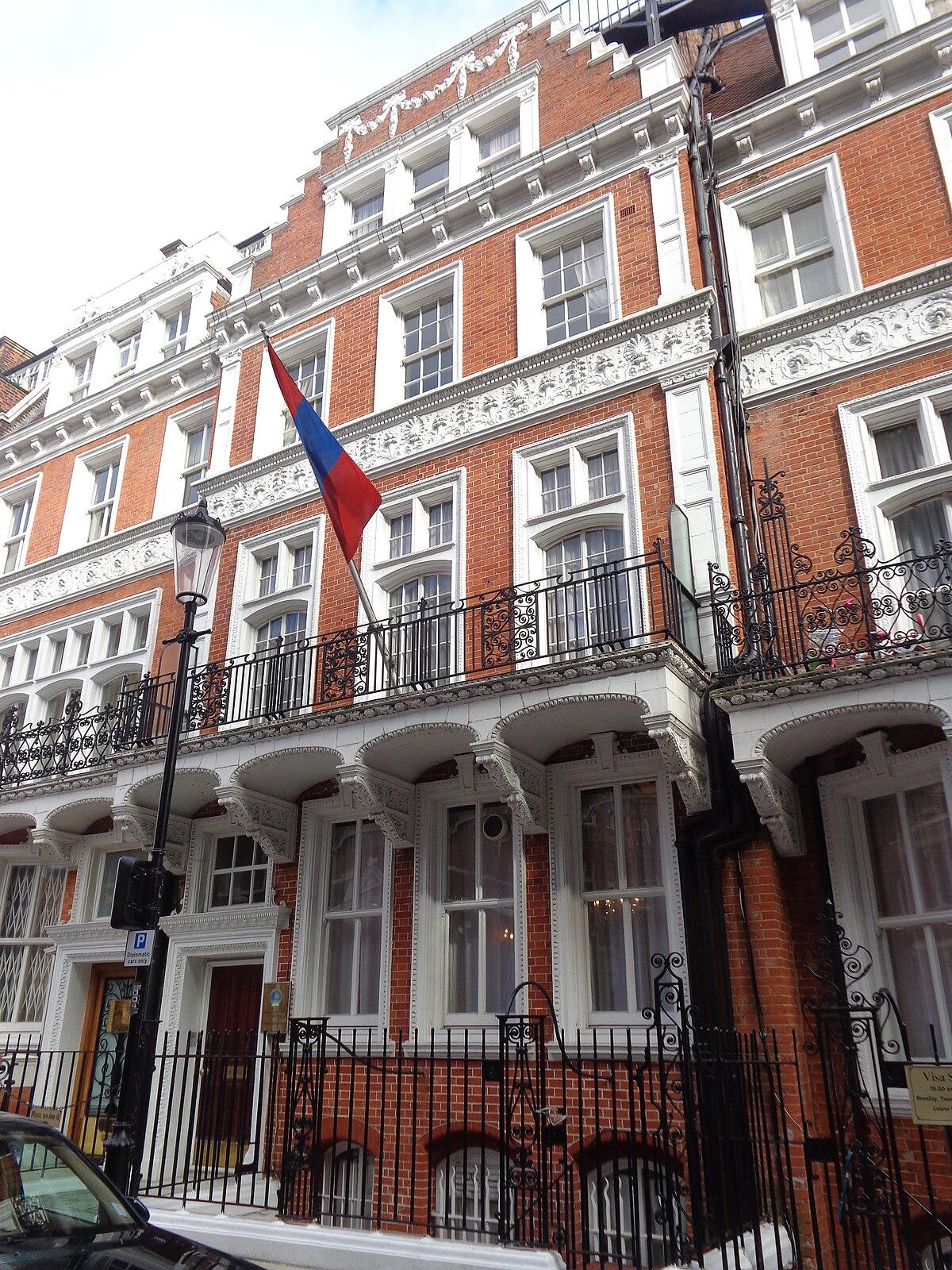 Embassy of Mongolia, London - Wikipedia