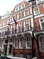Mongolian Embassy, Kensington Court, London (25th September 2014) 002.jpg