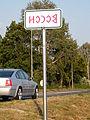 Monor city limit sign rovas script.jpg