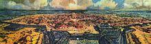 Montevideo, verso la fine dell'Ottocento, da una ricostruzione di Leonie Matthis.