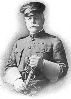 Montgomery M. Macomb - Macomb in Hawaii as a Brigadier General.
