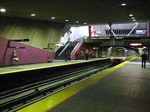 LaSalle station (Montreal Metro) - Image: Montreal metro La Salle