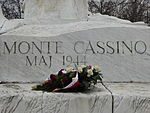 Monument to the Battle of Monte Cassino in Warsaw (16231752172).jpg
