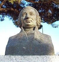 Busto di Boccherini a Madrid (1966).