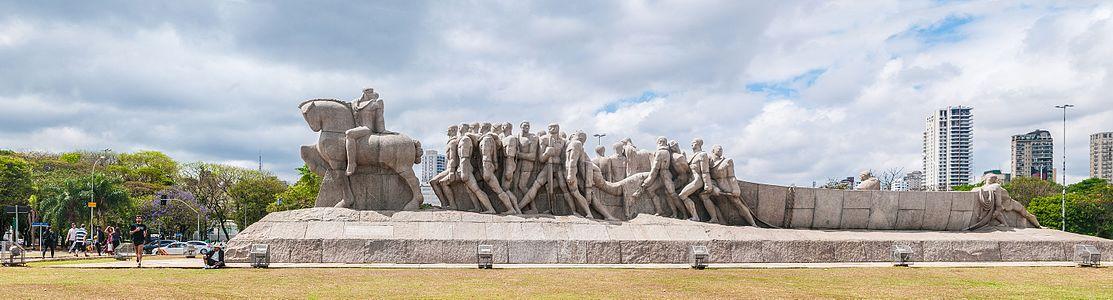 Monumento a las Banderas, S%C3%A3o Paulo, Brasil
