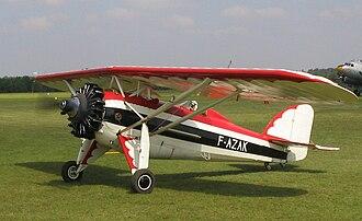 Morane-Saulnier MS.230 - Image: Morane Saulnier MS.230 La Ferte