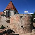 "Moritzburg, Nordostturm mit Studentenclub ""Turm"".jpg"