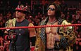 The Miz, left, and John Morrison as World Tag Team Champions