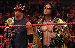 The Miz - From 2007 to 2009, The Miz spent the majority of that time as either WWE or World Tag Team Champion, teaming with John Morrison