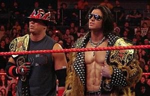 John Morrison and The Miz - Image: Morrison & Miz WTT Champions