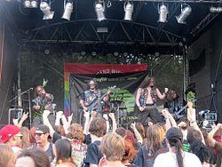 Mortal Strike beim Donauinselfest 2012