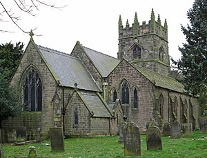 Morton, Derbyshire - Morton – Holy Cross Church