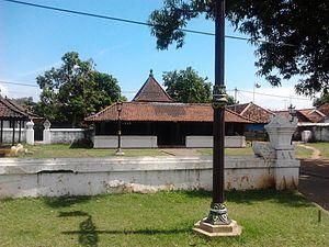 Keraton Kasepuhan - A mosque inside the complex of Kraton Kasepuhan