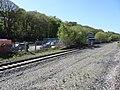 Mostyn railway station (site), Flintshire (geograph 5788874).jpg