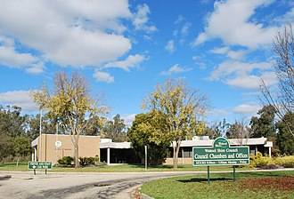 Wakool Shire - Council chambers at Moulamein