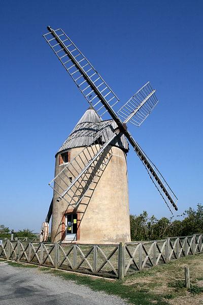 Moulin à vent de Vignasse - Structure complete