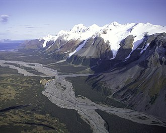 Alaska Peninsula National Wildlife Refuge - Mountain Range Alaska Peninsula NWR