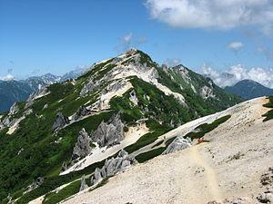 Mt.Tsubakurodake from Enzansou 01.jpg