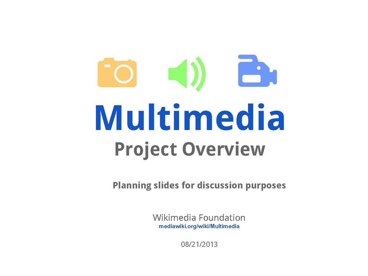 multimedia assignments