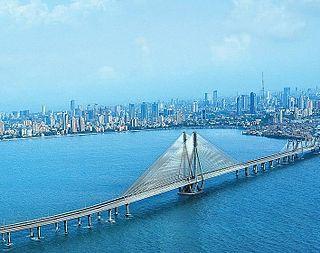 Mumbai Megacity in Maharashtra, India