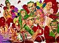 """Mural del """"Vincy Mas"""", tradicional festival de música, danza y diseño..jpg"""