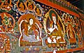 Mural of Atisha at Ralung Gompa, 1993.jpg