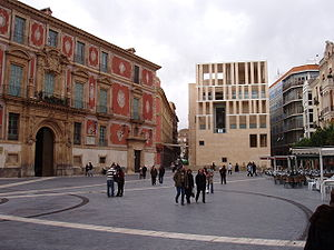 1999 in architecture - Image: Murcia Cathedral Square 1
