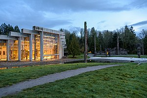 Museology - The Museum of Anthropology at UBC.