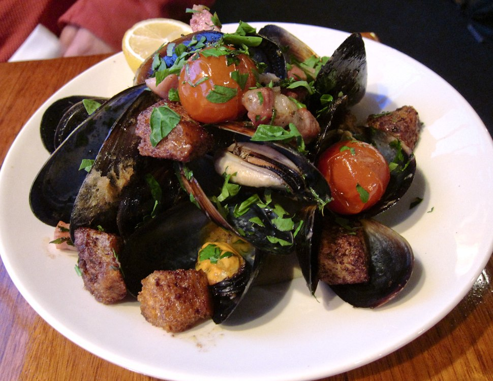 Mussel dish