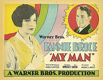 My Man (1928 film) - Lobby card