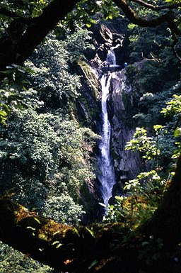 Mynach Waterfall - geograph.org.uk - 507962
