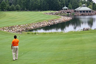 Farmington, Pennsylvania - Mystic Rock golf course at Nemacolin Woodlands Resort