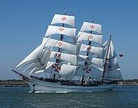 N.R.P. Sagres, navio-escola. Forças Armadas Marinha Portuguesa.jpg
