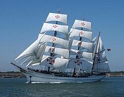 NRP Sagres, navio-escola.  Forças Armadas Marinha Portuguesa.jpg