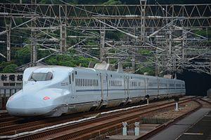 N700-7000 series S1 Sakura 541 Shin-Shimonoseki 20140901.jpg