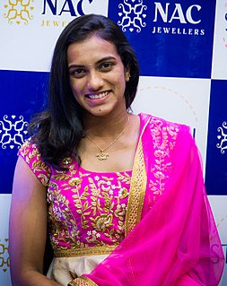 P. V. Sindhu Badminton player