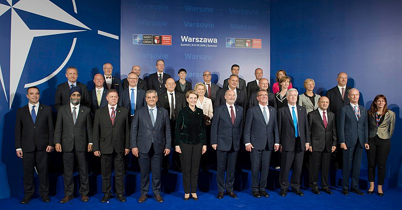 File:NATO Ministers for Defence at the 2016 Warsaw Summit in Poland.jpg