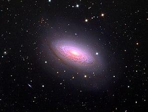 NGC 3675 - Image: NGC3675 spiral galaxy in Schulman telescope