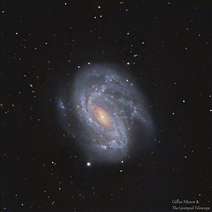 NGC 4051 - RGB image of the galaxy NGC 4051 by the earthbound Liverpool Telescope