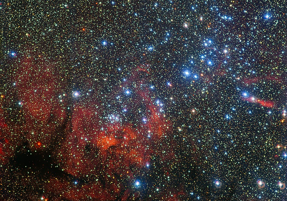 NGC 3590 open cluster Eso1416a