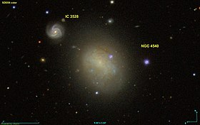 Image illustrative de l'article NGC 4540