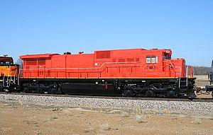 GE C39-8 - NREX 7483