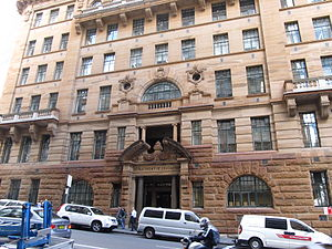 Department of Education building - Image: NSW Dept Education Building North Side Bridge Street