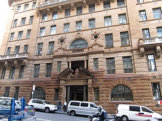 Department of Education building - Image: NSW Dept Education Building North Side Bridge Street