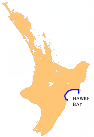 Hawke Bay - Location of Hawke Bay