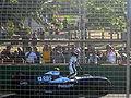 Nakajima accident melbourne 2009.jpg