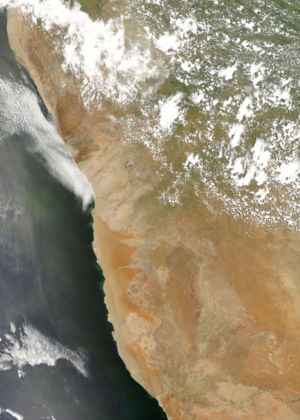 Namib - An image of the Namib Desert by the MODIS instrument