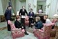 Nancy Reagan Having The First Tea with Raisa Gorbachev at Maison De Saussure in Geneva Switzerland - DPLA - 82c7ba16f67be44fb5816ba02b62b694.jpg