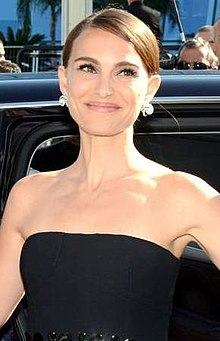 A photograph of Portman attending the Cannes Film Festival in 2015